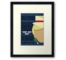 The Fifth Framed Print
