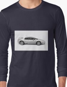 1997 Lotus Esprit V8 sports car art photo print Long Sleeve T-Shirt