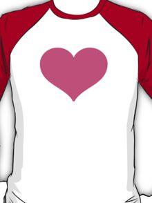 Heavy Black Heart Google Hangouts / Android Emoji T-Shirt