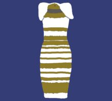 White and Gold dress T-Shirt