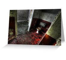 Red Room Greeting Card