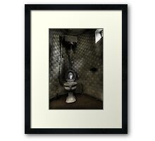 Turret Toilet Framed Print