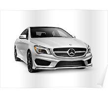 2015 Mercedes Benz SL550 luxury car art photo print Poster