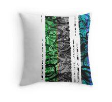 Kinetic abstract 1 Throw Pillow