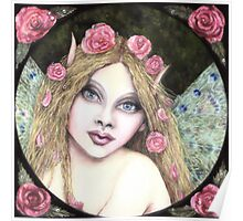 ROSES AND RAINDROPS FAIRY Poster