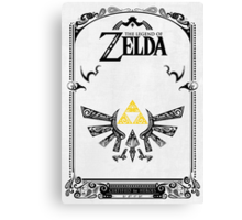 Zelda legend Hyrule Canvas Print