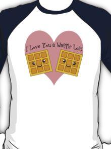 I Love You a Waffle Lot! T-Shirt