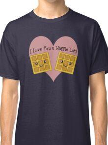 I Love You a Waffle Lot! Classic T-Shirt