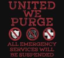 UNITED WE PURGE. by protestall