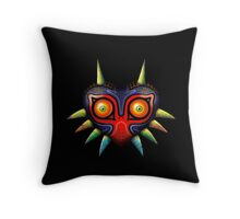Majora's Mask (Zelda) Throw Pillow