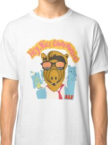 Lord help us, he's back in his pink Alf shirt Classic T-Shirt