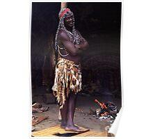Zulu Medicine Man Poster