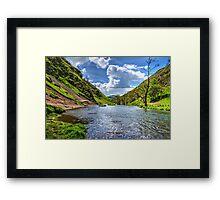 Dovedale Framed Print