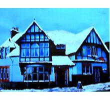The Bridge Inn, Peebles (digitally enhanced photograph) Photographic Print