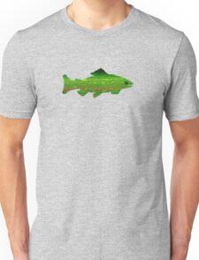 Greenish Trout Flyfishing Teeshirt Unisex T-Shirt