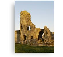 Pevensey Castle, Sussex, England Canvas Print