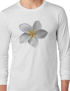Soft Plumeria Long Sleeve T-Shirt