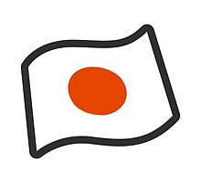 Flag For Japan Google Hangouts / Android Emoji by emoji