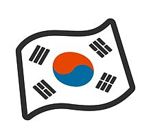Flag For South Korea Google Hangouts / Android Emoji by emoji
