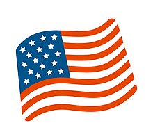Flag For USA Google Hangouts / Android Emoji by emoji