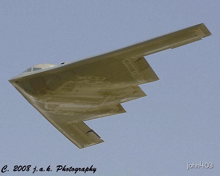 B-2 Spirit (Stealth Bomber) by john403