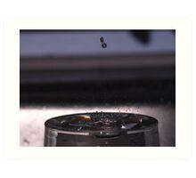 Moving Droplet Art Print