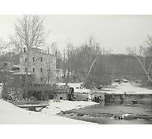 A Cold Winter's Day Photographic Print