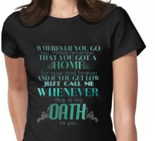 Oath Womens Fitted T-Shirt