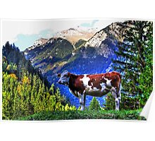 Milka Cow Poster
