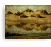 Dune tidal pool Canvas Print