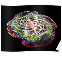 Tut57#16: Rainbow Connection Crystal Swirl (G1210) Poster