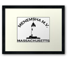 Menemsha Beach - Cape Cod. Framed Print