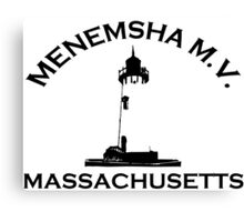 Menemsha Beach - Cape Cod. Canvas Print