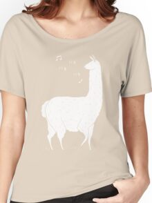 Song Of The Llama Women's Relaxed Fit T-Shirt