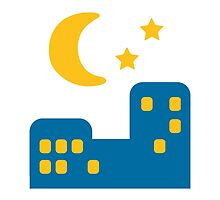 Night With Stars Google Hangouts / Android Emoji by emoji