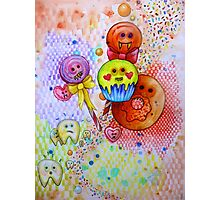 sugar rush scary candy  Photographic Print