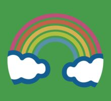 Rainbow Google Hangouts / Android Emoji Kids Clothes