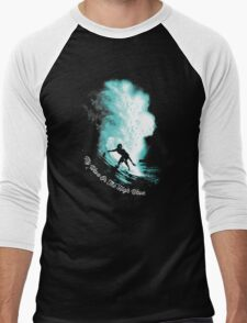 My Wave Or The High Wave Men's Baseball ¾ T-Shirt