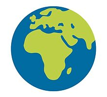 Earth Globe Europe-Africa Google Hangouts / Android Emoji by emoji