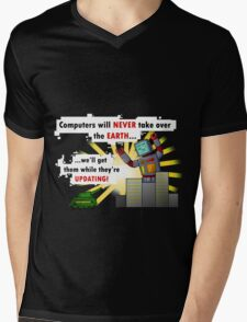 Why Computers will never take over... Mens V-Neck T-Shirt