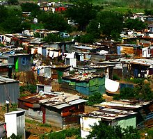 Shanty Town, Soweto, South Africa by vadim19