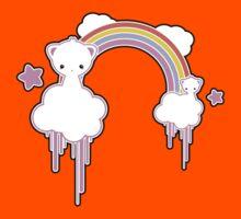 Cloud Kittens Kids Tee