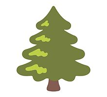 Evergreen Tree Google Hangouts / Android Emoji by emoji