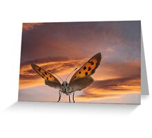 Giant. Greeting Card
