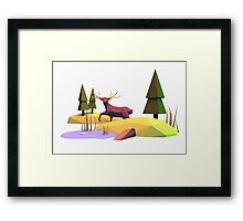 Into the wild I Framed Print