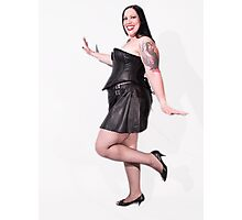 Goth Pinup Photographic Print