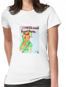 Ben Drowned - Creepy Pasta Womens Fitted T-Shirt