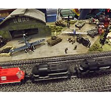 Scale Model Trains, Scale Model Airplanes, Greenberg's Train and Toy Show, Edison, New Jersey  Photographic Print