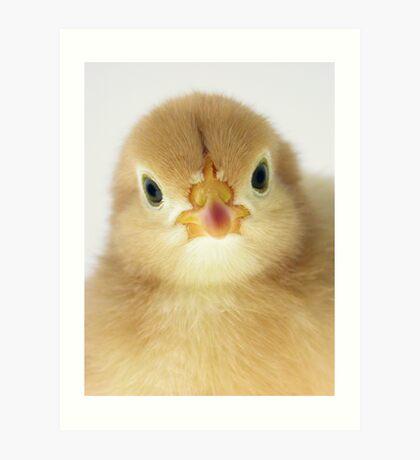 Chicky Babe Art Print