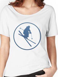 SKI framed Women's Relaxed Fit T-Shirt